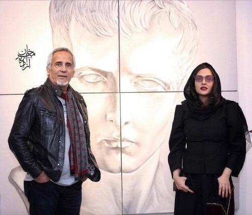 نمایشگاه نقاشی آناهیتا درگاهی با حضور هنرمندان