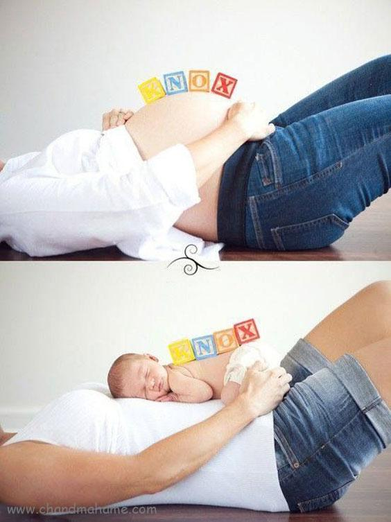 جدیدترین مدل عکس بارداری2019