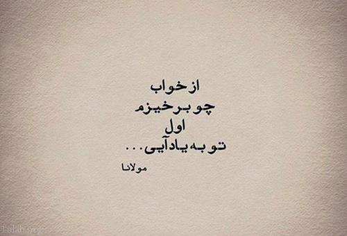 زندگی نامه و زیباترین  اشعارعاشقانه مولانا