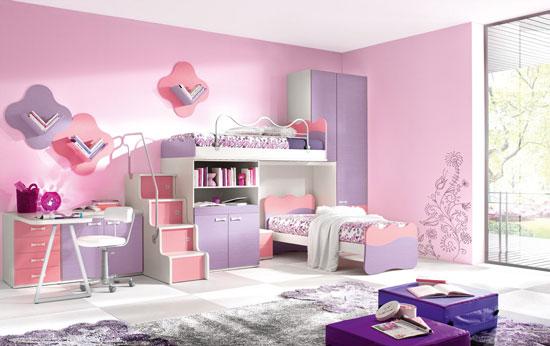 مدل تخت و تزئین اتاق کودک-2019