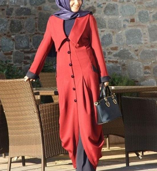رنگ مرجانی جدیدترین مدل لباس و مانتو2019