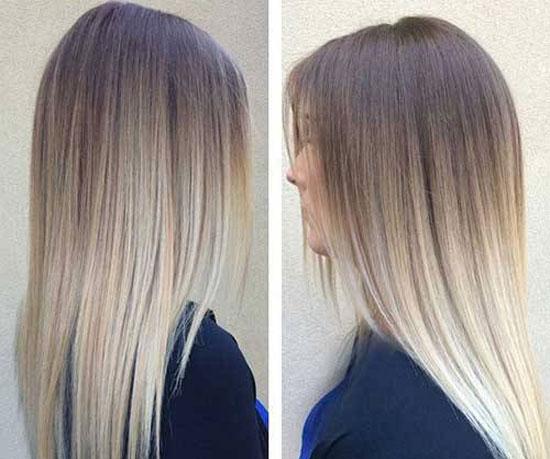 مدل رنگ موی لاکچری آمبره و بالیاژ 2022