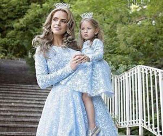 مدل های زیبا و لاکچری ست مادر دختری-سری جدید
