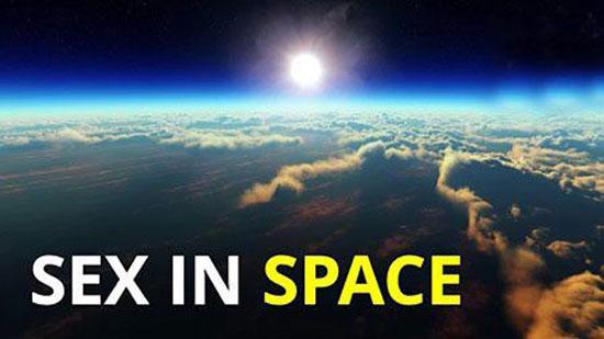 آزمایش رابطه جنسی در فضای دور از زمین + عکس