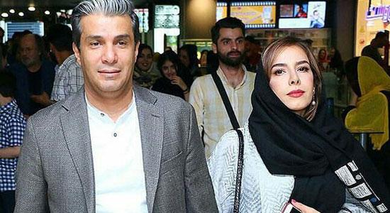 بیوگرافی آریا عظیمی نژاد+عکس او و همسرش