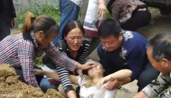 رسم عجیب و وحشتناک تایلند-زنده به گور کردن زنان پس از بیوه شدن +عکس