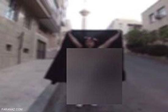 ماجرای لخت شدن دختر ایرانی در حوالی برج میلاد + عکس