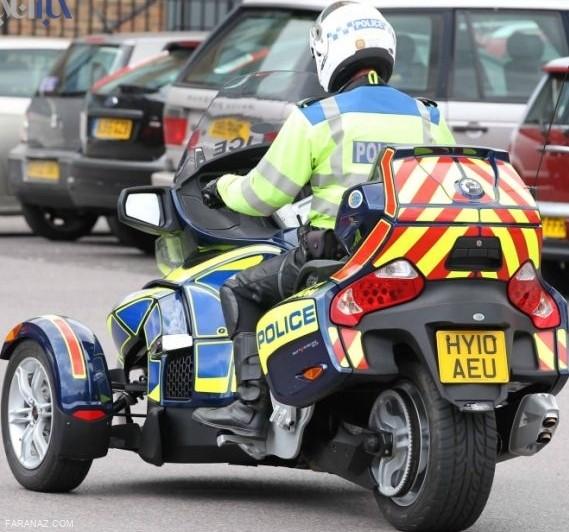 پلیس لندن و موتورهای عجیب و غریب