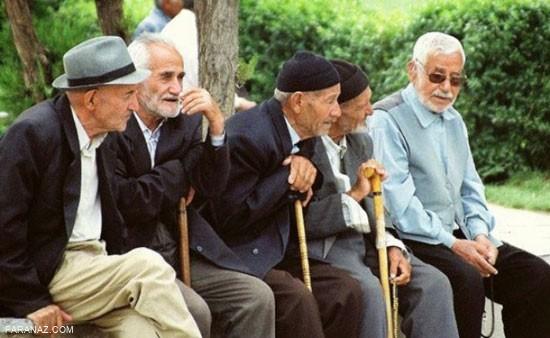 دنیای پیری به همراه خصایص و مشکلاتش