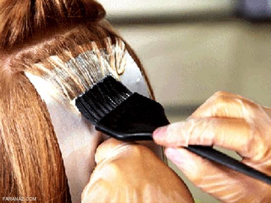 ترفند|در خانه موهایتان را رنگ کنید!