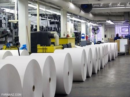 کاهش تولید کاغذ در کشور