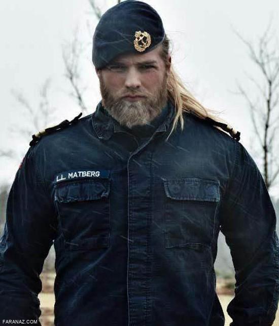زیباترین افسر مرد پلیس دنیا را بشناسید + عکس