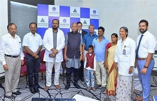تیم پزشکی 526 دندان از دهان این پسر هندی خارج کردند + عکس