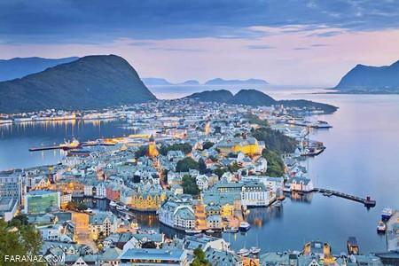 شهری در نروژ که زمان ندارد