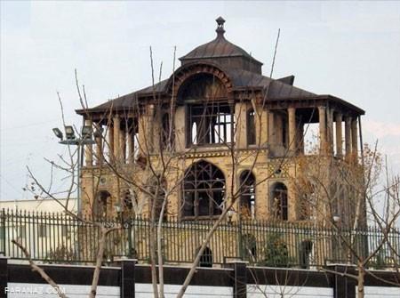 بزرگترین باغ ییلاقی ناصرالدین شاه(کاخ سلطنت آباد)+ تصاویر