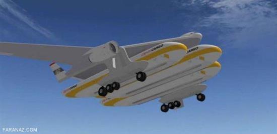 طراحی هواپیمایی که به قطار تبدیل می شود + عکس