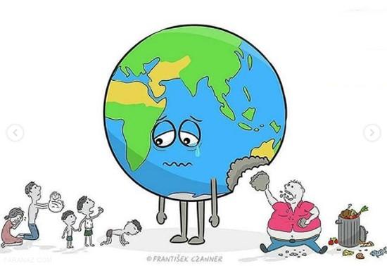 جدیدترین کاریکاتور های بسیار زیبا از زمین عصبانی