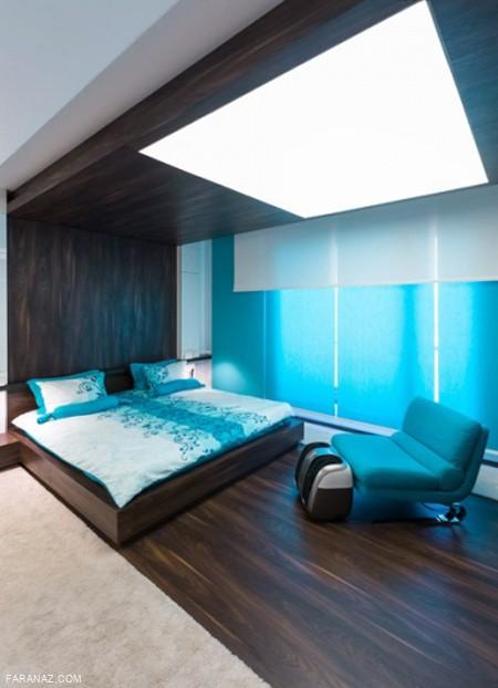 اصول چیدمان و فنگ شویی اتاق خواب + عکس