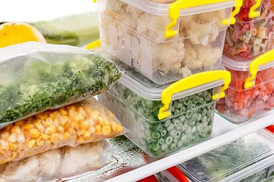 روش علمی فریز کردن مواد غذایی + ترفند های خانه داری