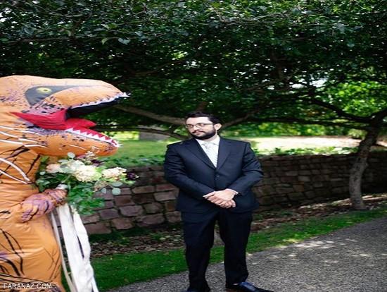 سورپرایز عجیب داماد توسط نو عروس + عکس
