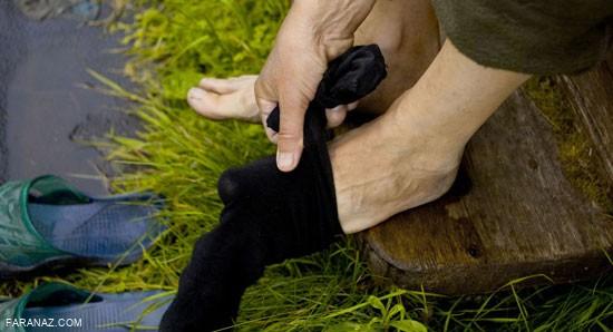 راهکار های موثر برای رفع بوی بد پا و کفش ها