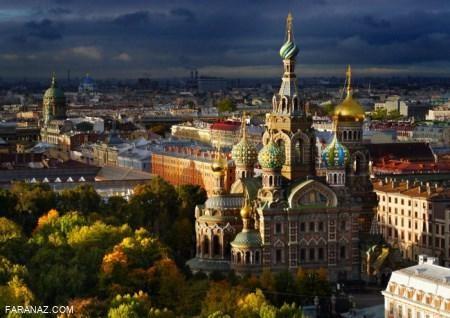 عکس های رویایی و زیبا از آسمان شهرهای مختلف سراسر جهان
