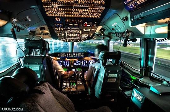 زیباترین زاویه دید جهان از دید خلبان ها + عکس