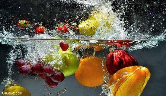 طریقه ضد عفونی کردن میوه و سبزی