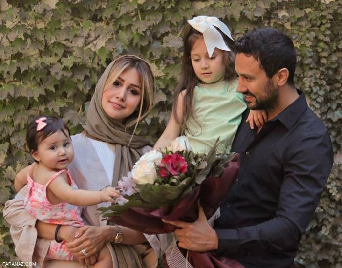 عکس دیده نشده همسر شاهرخ استخری در جشن تولد