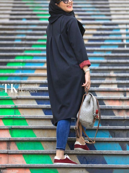 ویترینی از جدیدترین مدل مانتو دانشجویی پاییزی