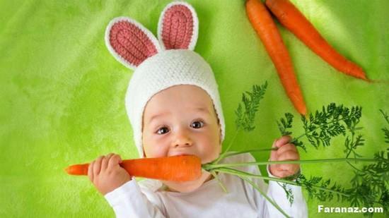 با خواص خارق العاده هویج و انبه برای کودکان آشنا شوید