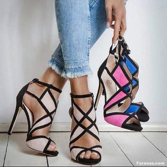 جدیدترین و به روزترین کفش های دخترانه لاکچری + عکس