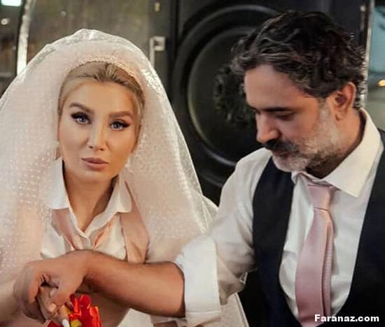 عمار تفتی،بازیگر توانمند و معروف کشورمان داماد شد + عکس عروسی