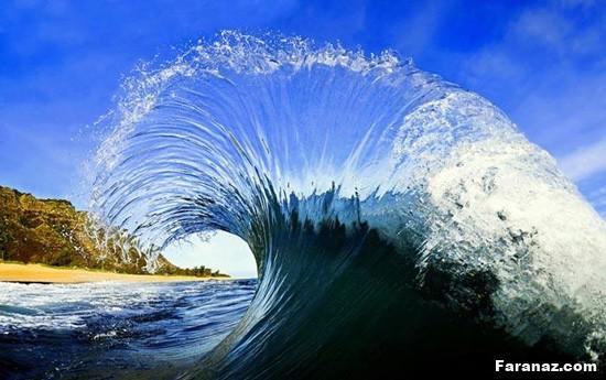زیباترین عکس های خاص از موج دریا