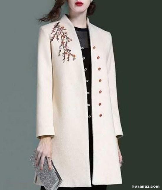 جدیدترین و لاکچری ترین مدل های پالتو زنانه ویژه پائیز99