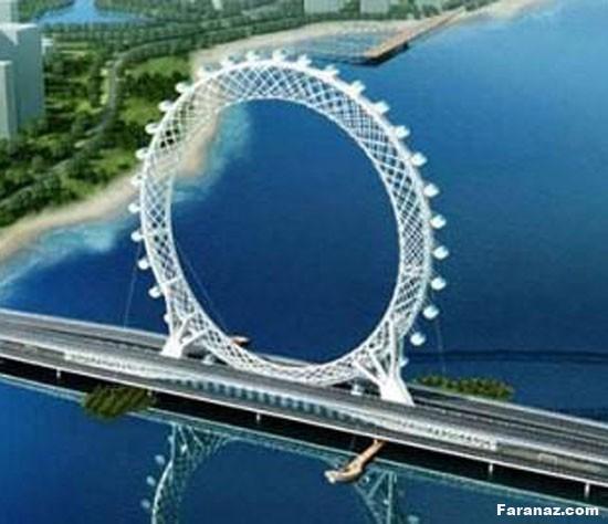 بزرگترین و غول پیکرترین چرخ و فلک دنیا