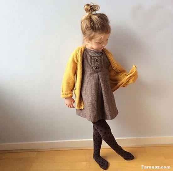 شیک ترین و جدیدترین مدل لباس پائیزه دخترانه99