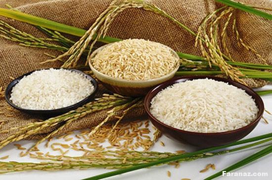 با این ترفند ها برنج سالم را از برنج تقلبی تشخیص دهید