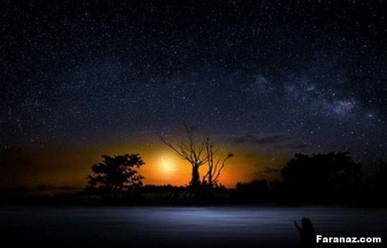 عکس های زیبا و باور نکردنی از کهکشان راه شیری