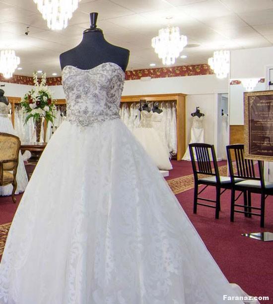 زیباترین و لاکچری ترین مدل لباس عروس 2020