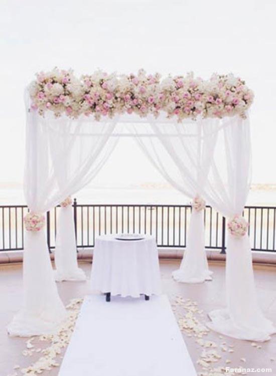 لاکچری ترین و جدیدترین مدل های جایگاه عروس و داماد