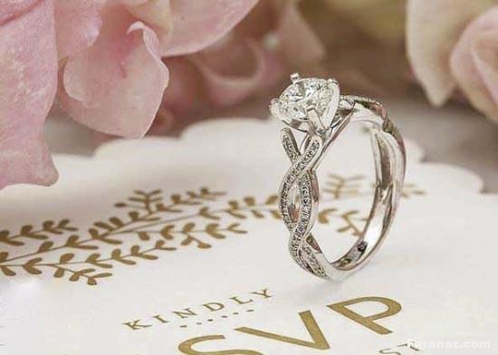 مدل حلقه ازدواج جدید و لاکچری مد روز 1400