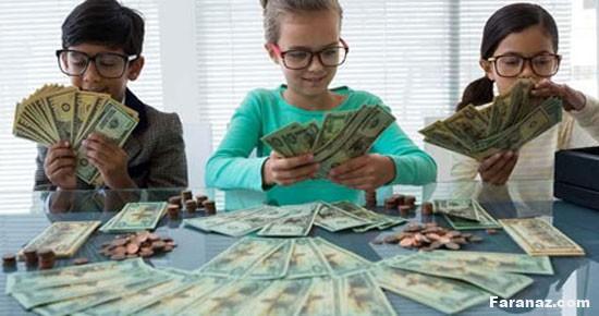 راه های پس انداز و تربیت کودک مقتصد با شرایط اقتصادی امروز