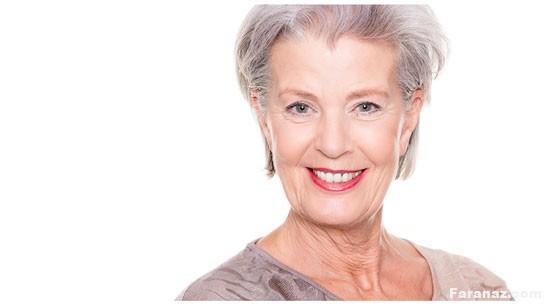 ترفند های جذاب آرایش خانم های سالمند