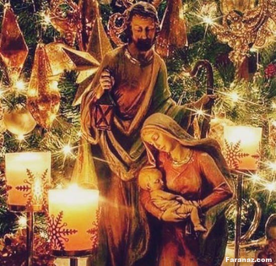 پیامک جدید تبریک میلاد حضرت عیسی مسیح + عکس پروفایل