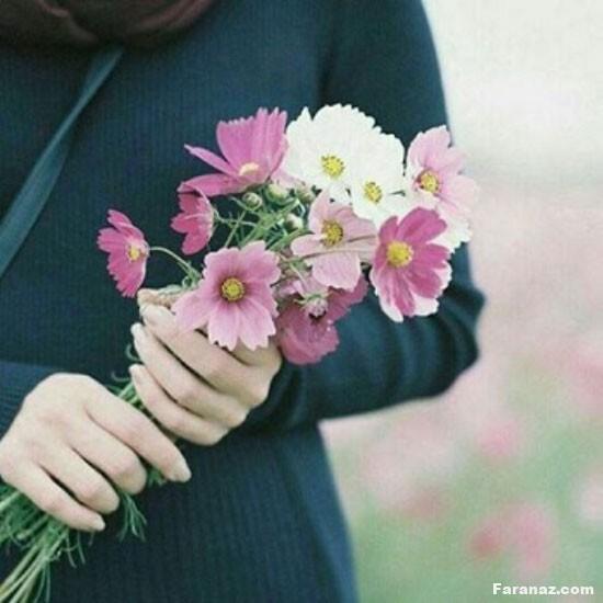 عکس گل زیبا و احساسی مخصوص پروفایل