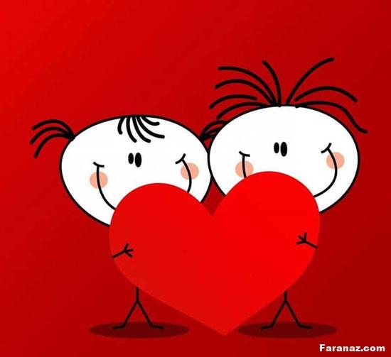 پیام تبریک روز ولنتاین + عکس های عاشقانه برای پروفایل
