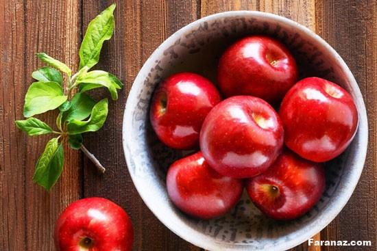 سیب برخلاف فوایدش این عوارض را هم دارد!!!