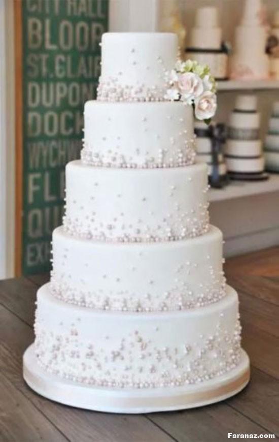 مدل های لاکچری و جدید کیک عروسی1400