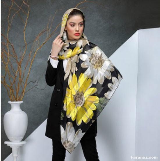 جدیدترین مدل های شال و روسری کالکشن 1400